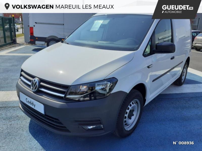 Volkswagen Caddy Van Maxi 2.0 TDI 102ch Business Line Blanc occasion à Mareuil-lès-Meaux