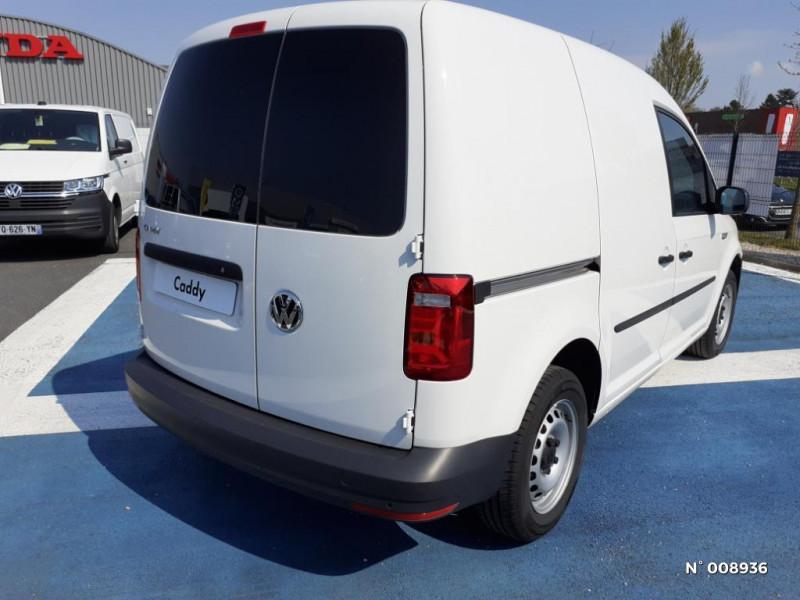 Volkswagen Caddy Van Maxi 2.0 TDI 102ch Business Line Blanc occasion à Mareuil-lès-Meaux - photo n°6