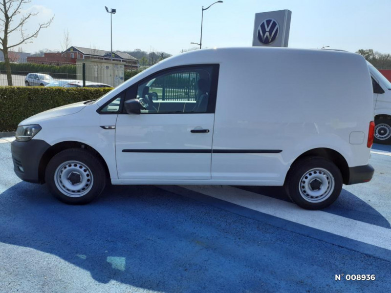 Volkswagen Caddy Van Maxi 2.0 TDI 102ch Business Line Blanc occasion à Mareuil-lès-Meaux - photo n°8