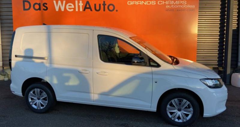 Volkswagen Caddy 2.0 TDI 102 BVM6 Blanc occasion à Bourgogne