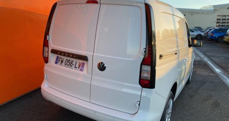 Volkswagen Caddy 2.0 TDI 102 BVM6 Blanc occasion à Bourgogne - photo n°5