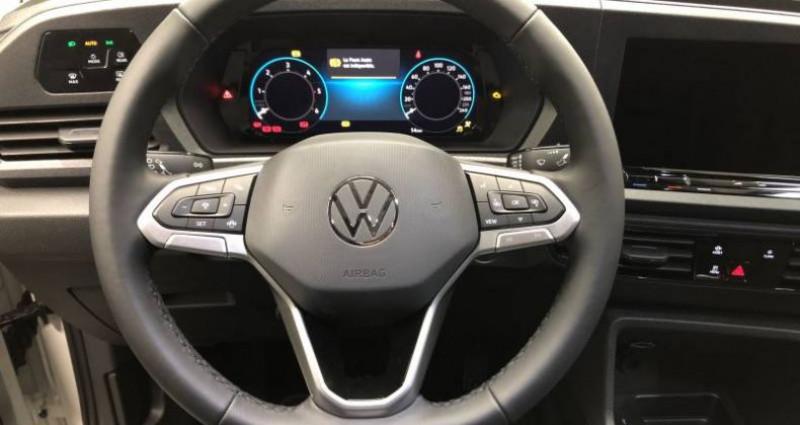 Volkswagen Caddy 2.0 TDI 102 BVM6 Blanc occasion à AHUY - photo n°5