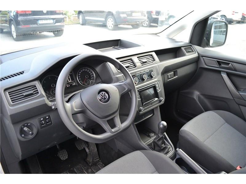 Volkswagen Caddy 2.0 TDI 102 Blanc occasion à Brest - photo n°6
