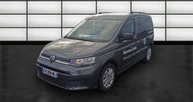 Volkswagen Caddy 2.0 TDI 122ch Life Gris occasion à La Rochelle