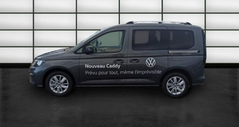 Volkswagen Caddy 2.0 TDI 122ch Life Gris occasion à La Rochelle - photo n°3