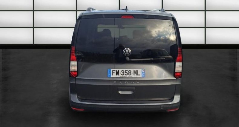 Volkswagen Caddy 2.0 TDI 122ch Life Gris occasion à La Rochelle - photo n°4