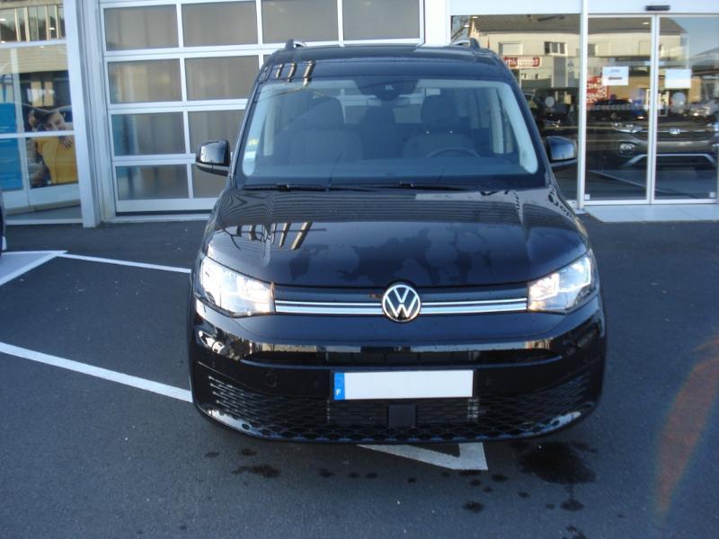 Volkswagen Caddy 2.0 TDI 122ch Life Noir occasion à Aurillac - photo n°2