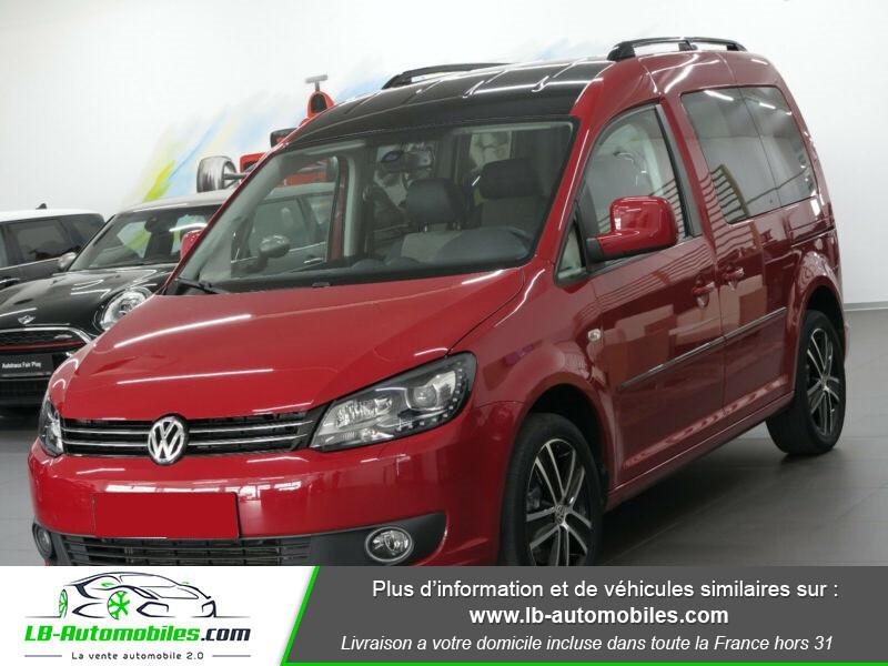 Volkswagen Caddy 2.0 TDI 140 DSG Rouge occasion à Beaupuy