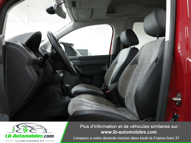 Volkswagen Caddy 2.0 TDI 140 DSG Rouge occasion à Beaupuy - photo n°4