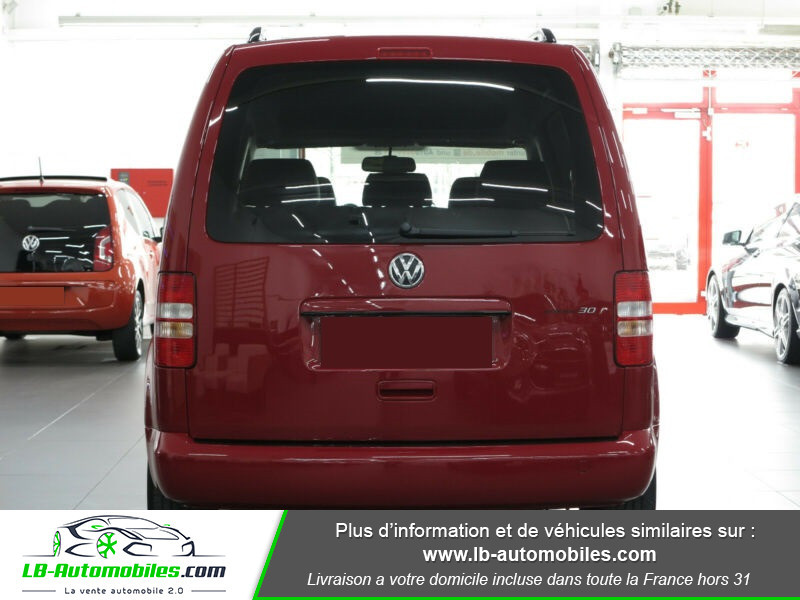 Volkswagen Caddy 2.0 TDI 140 DSG Rouge occasion à Beaupuy - photo n°9