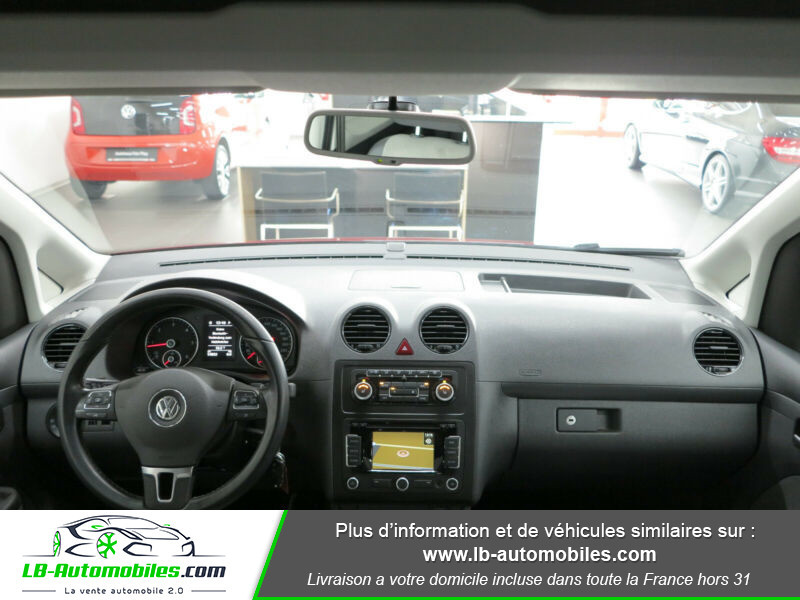 Volkswagen Caddy 2.0 TDI 140 DSG Rouge occasion à Beaupuy - photo n°2