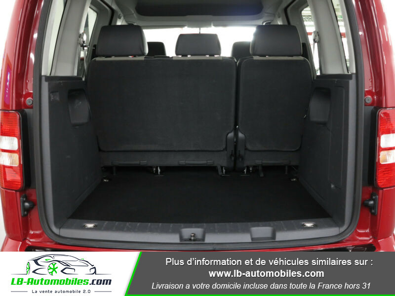 Volkswagen Caddy 2.0 TDI 140 DSG Rouge occasion à Beaupuy - photo n°10