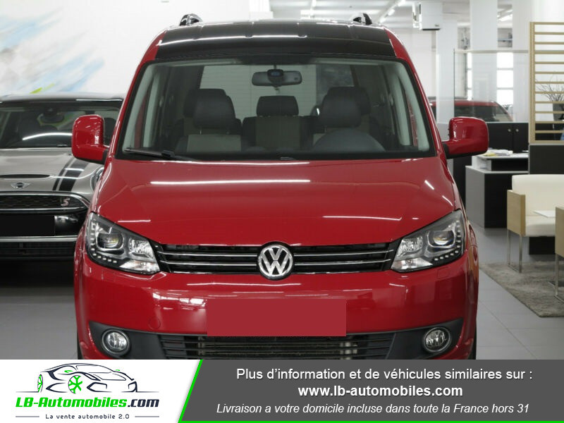Volkswagen Caddy 2.0 TDI 140 DSG Rouge occasion à Beaupuy - photo n°8