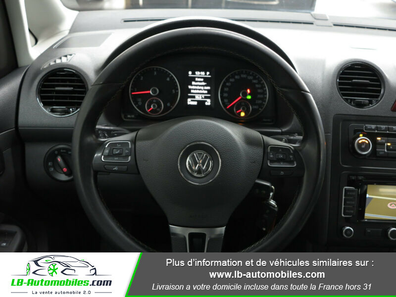 Volkswagen Caddy 2.0 TDI 140 DSG Rouge occasion à Beaupuy - photo n°6