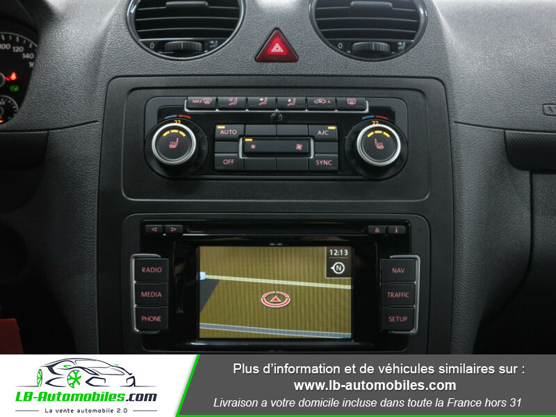 Volkswagen Caddy 2.0 TDI 140 DSG Rouge occasion à Beaupuy - photo n°7