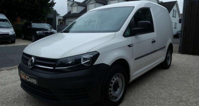 Volkswagen Caddy 2.0 TDI 75KW 1ste HAND - 1MAIN NETTO: 10.735 EURO Blanc occasion à Waregem - photo n°3