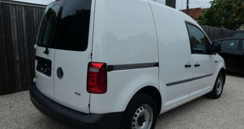 Volkswagen Caddy 2.0 TDI 75KW 1ste HAND - 1MAIN NETTO: 10.735 EURO Blanc occasion à Waregem - photo n°4
