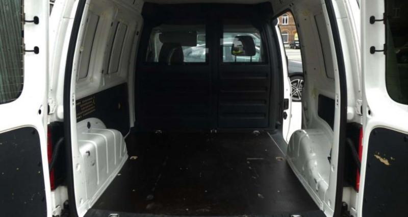 Volkswagen Caddy 2.0 TDI 75KW 1ste HAND - 1MAIN NETTO: 10.735 EURO Blanc occasion à Waregem - photo n°6