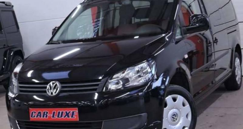 Volkswagen Caddy MAXI 7 PLACES 1.2TSI 1O5CV LONGCHASSIS GARANTIE Noir occasion à Sombreffe