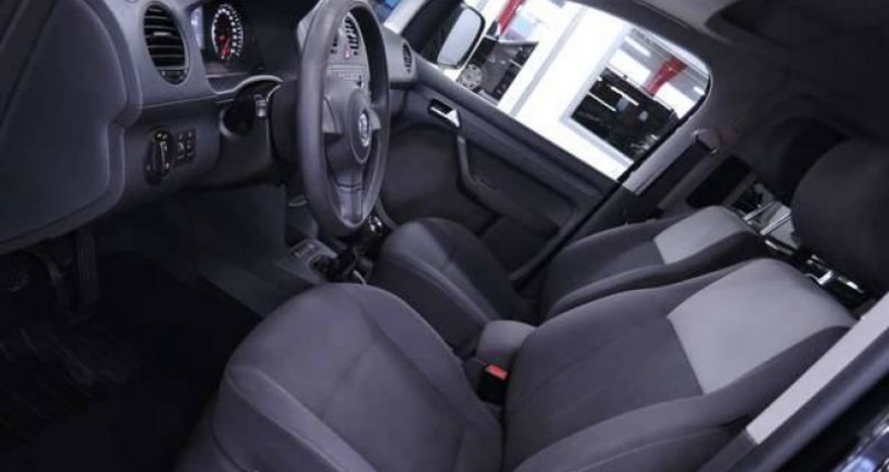 Volkswagen Caddy MAXI 7 PLACES 1.2TSI 1O5CV LONGCHASSIS GARANTIE Noir occasion à Sombreffe - photo n°3