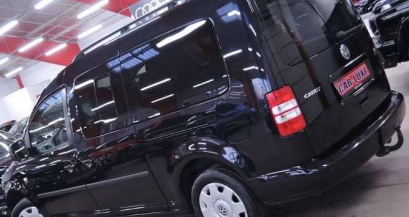 Volkswagen Caddy MAXI 7 PLACES 1.2TSI 1O5CV LONGCHASSIS GARANTIE Noir occasion à Sombreffe - photo n°2
