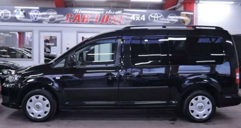 Volkswagen Caddy MAXI 7 PLACES 1.2TSI 1O5CV LONGCHASSIS GARANTIE Noir occasion à Sombreffe - photo n°5