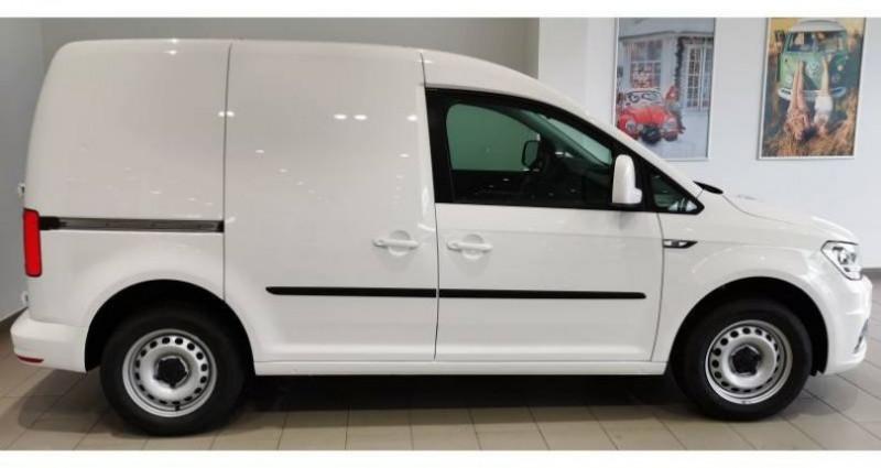 Volkswagen Caddy VAN 2.0 TDI 102 DSG6 BUSINESS LINE PLUS Blanc occasion à AHUY - photo n°2