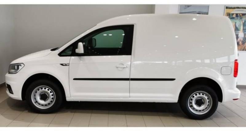 Volkswagen Caddy VAN 2.0 TDI 102 DSG6 BUSINESS LINE PLUS Blanc occasion à AHUY - photo n°4