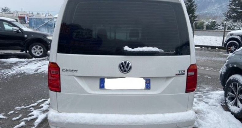 Volkswagen Caddy VAN RALLONGE 4 MOTION 122 CV BUSINESS LINE PACK STYLE rallon Blanc occasion à Voreppe - photo n°5