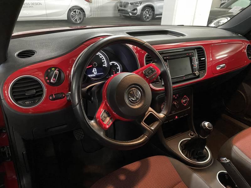 Volkswagen Coccinelle 1.2 TSI 105 Vintage Rouge occasion à Lormont - photo n°4