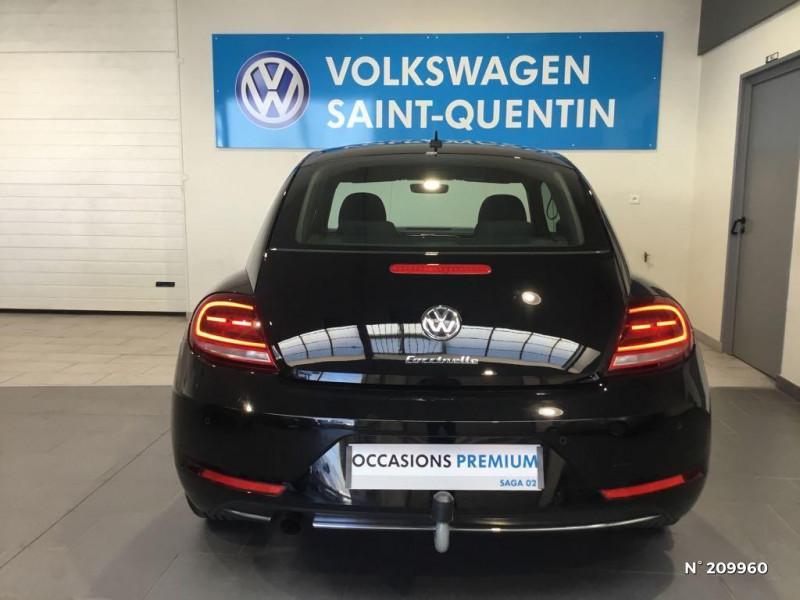 Volkswagen Coccinelle 1.2 TSI 105ch BlueMotion Technology Design DSG7 Noir occasion à Saint-Quentin - photo n°3