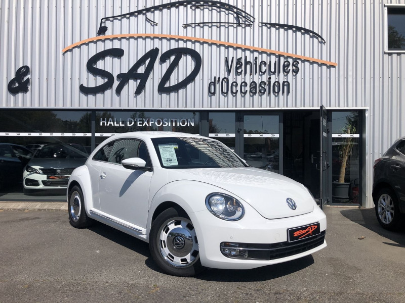 Volkswagen Coccinelle 1.2 TSI 105CH BLUEMOTION TECHNOLOGY VINTAGE Blanc occasion à TOULOUSE