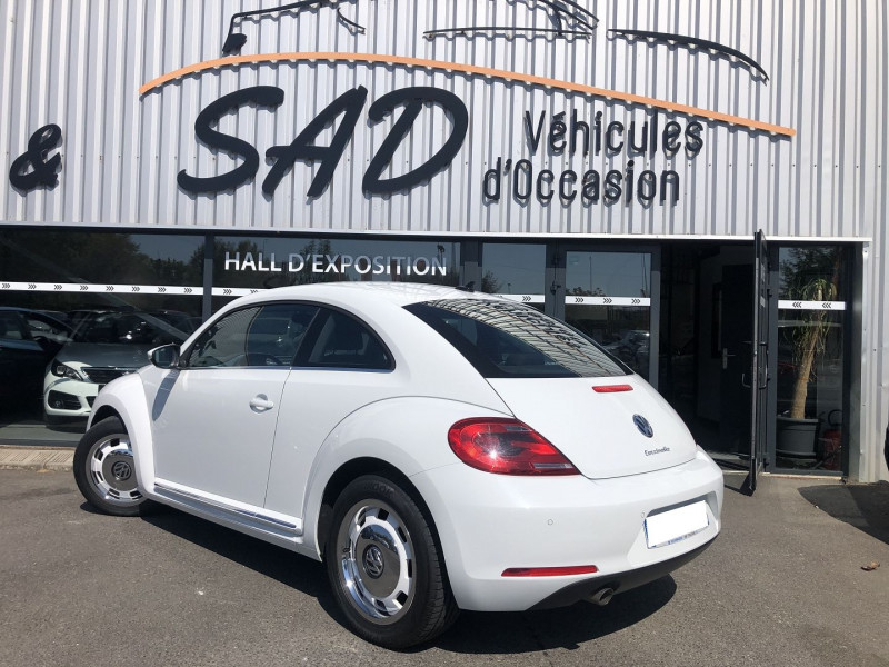 Volkswagen Coccinelle 1.2 TSI 105CH BLUEMOTION TECHNOLOGY VINTAGE Blanc occasion à TOULOUSE - photo n°2