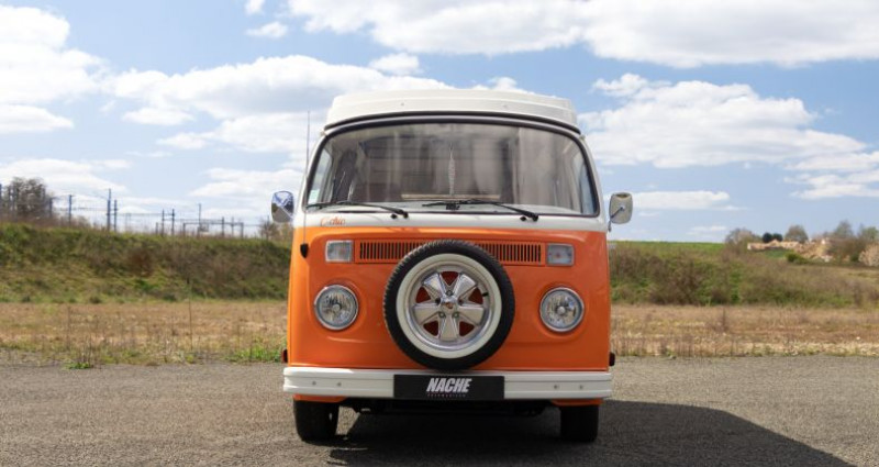 Volkswagen Combi T2 Orange occasion à AIGNE - photo n°3