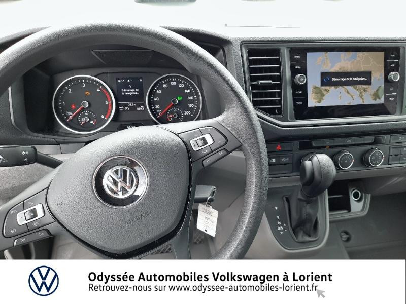 Volkswagen Crafter 30 L3H3 2.0 TDI 140ch Business Traction BVA8 Blanc occasion à Lanester - photo n°6