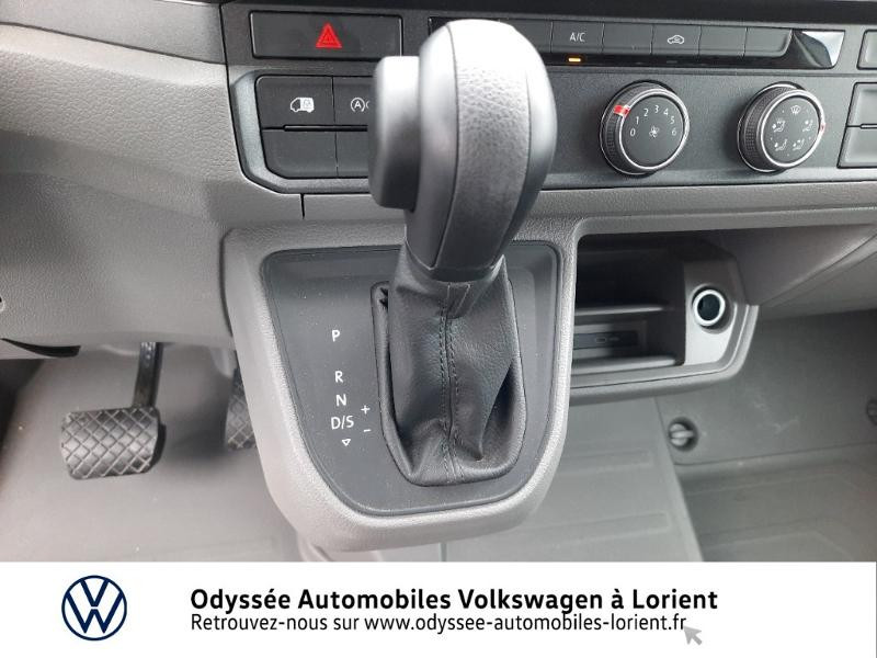 Volkswagen Crafter 30 L3H3 2.0 TDI 140ch Business Traction BVA8 Blanc occasion à Lanester - photo n°10