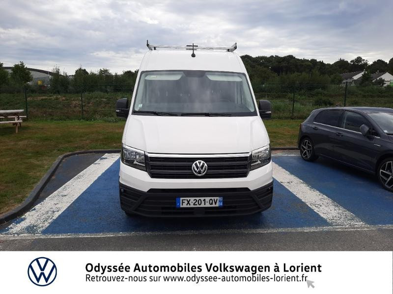 Volkswagen Crafter 30 L3H3 2.0 TDI 140ch Business Traction BVA8 Blanc occasion à Lanester - photo n°5