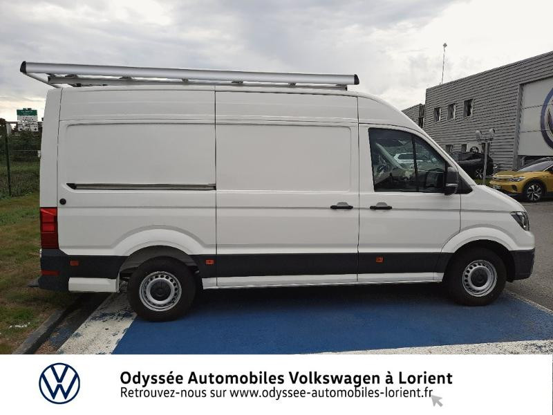 Volkswagen Crafter 30 L3H3 2.0 TDI 140ch Business Traction BVA8 Blanc occasion à Lanester - photo n°4