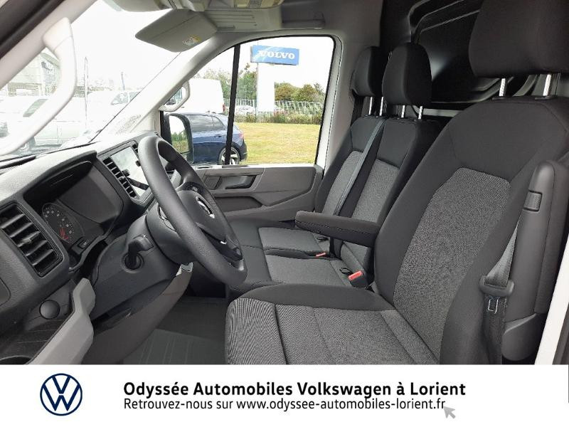 Volkswagen Crafter 30 L3H3 2.0 TDI 140ch Business Traction BVA8 Blanc occasion à Lanester - photo n°11