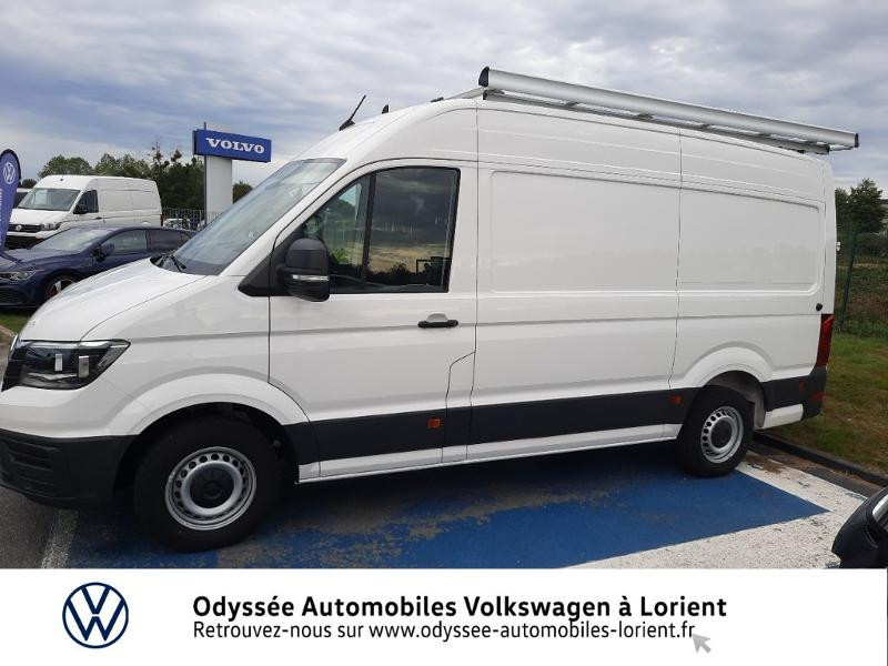 Volkswagen Crafter 30 L3H3 2.0 TDI 140ch Business Traction BVA8 Blanc occasion à Lanester - photo n°2