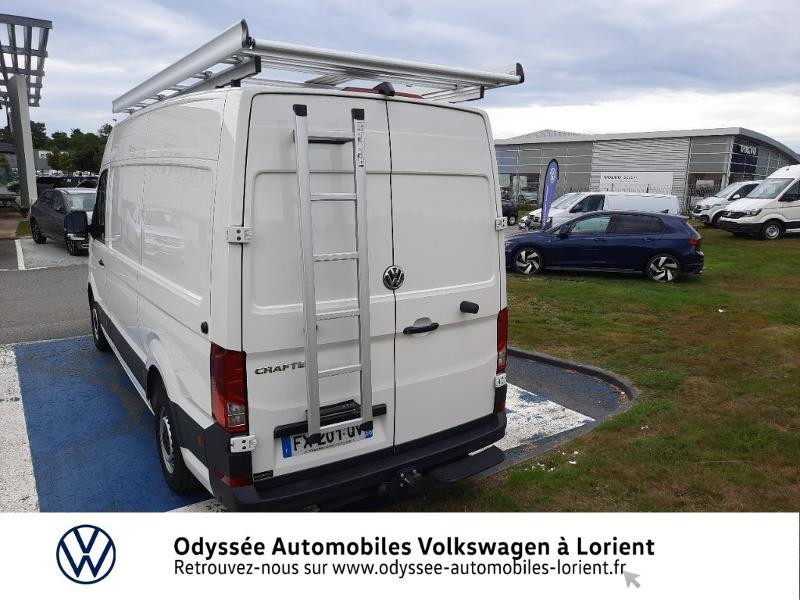 Volkswagen Crafter 30 L3H3 2.0 TDI 140ch Business Traction BVA8 Blanc occasion à Lanester - photo n°17