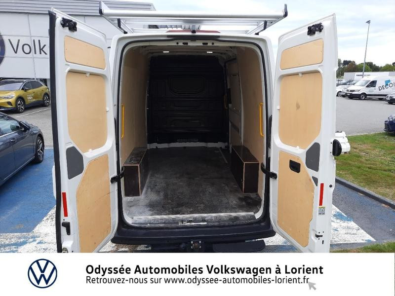 Volkswagen Crafter 30 L3H3 2.0 TDI 140ch Business Traction BVA8 Blanc occasion à Lanester - photo n°12
