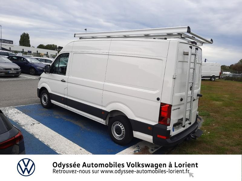 Volkswagen Crafter 30 L3H3 2.0 TDI 140ch Business Traction BVA8 Blanc occasion à Lanester - photo n°3