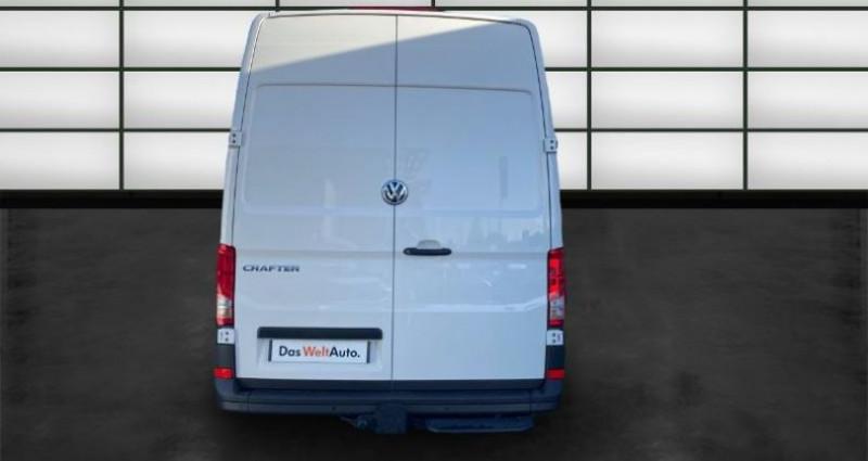 Volkswagen Crafter 35 L3H3 2.0 TDI 140ch Business Line Traction BVA8 Blanc occasion à La Rochelle - photo n°4