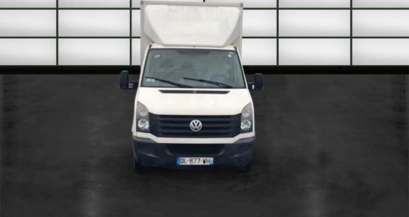 Volkswagen Crafter 50A L3 2.0 TDI 136ch Business Line Blanc occasion à La Rochelle - photo n°2