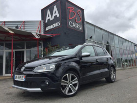 Volkswagen CrossPolo 1.4 ESSENCE 85CV Noir occasion à Castelmaurou - photo n°1