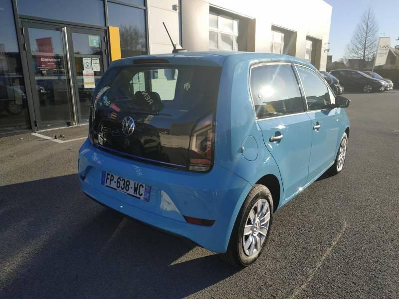 Volkswagen e-Up E-UP! 2.0 Electrique Bleu occasion à VANNES - photo n°3