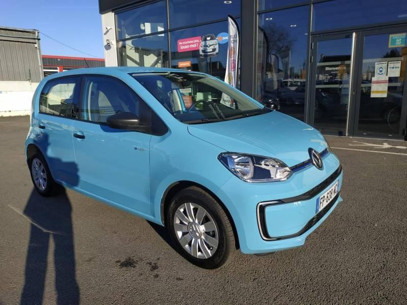 Volkswagen e-Up E-UP! 2.0 Electrique Bleu occasion à VANNES