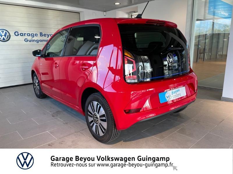 Volkswagen e-Up Electrique 83ch Rouge occasion à Lannion - photo n°3