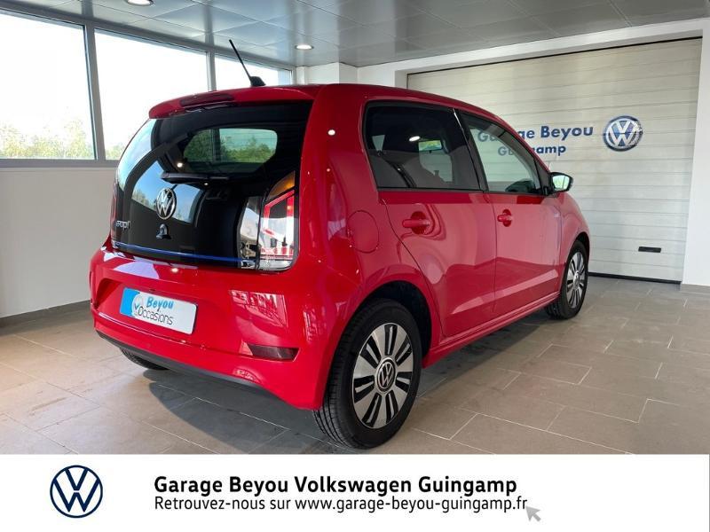 Volkswagen e-Up Electrique 83ch Rouge occasion à Lannion - photo n°4